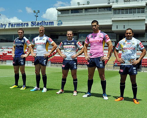 New Northern Queensland Cowboys Jersey 2012