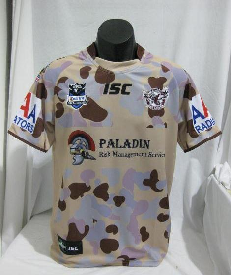 Manly ANZAC Jersey 2012