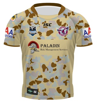 Manly Sea Eagles ANZAC Jersey 2012