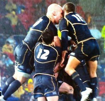 Strokosch Ansbro Head Clash Wallabies Scotland