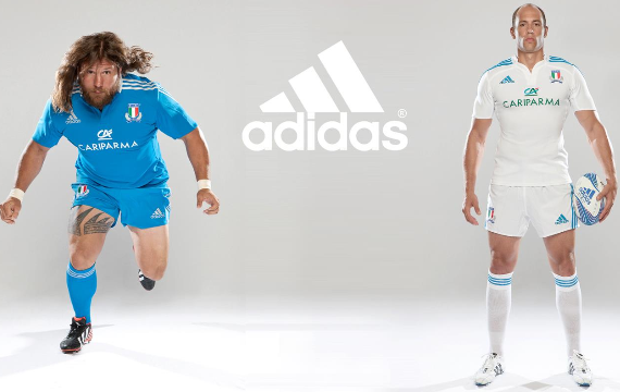 Italy Adidas Rugby Shirt 2012
