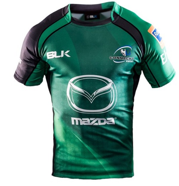 Leinster Rugby Season 2014 15 So Far: New Connacht Jersey 2013/2014- BLK Connacht Home Away Kits