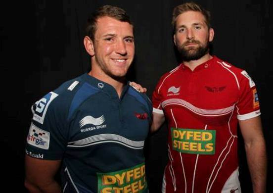 New Scarlets Kit 2013 2014