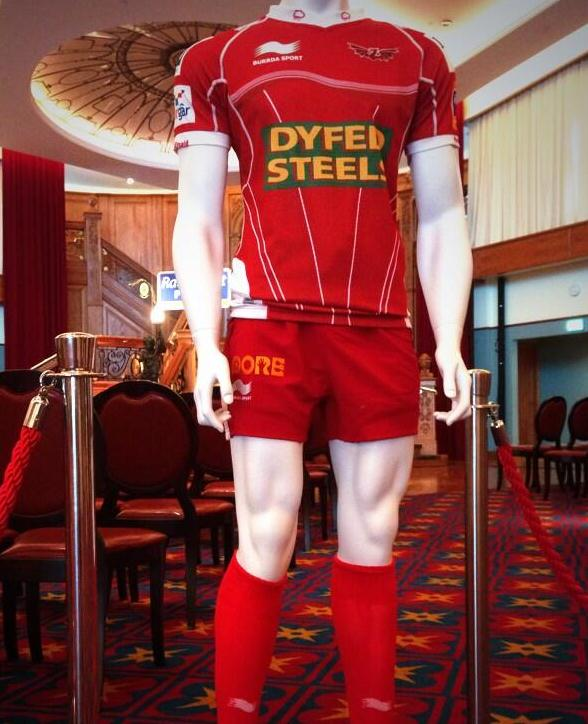 Scarlets Rugby Home Jersey