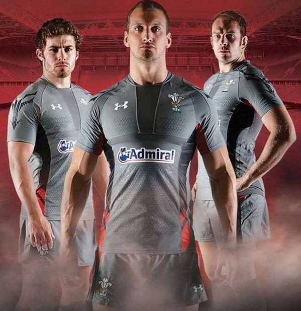Leinster Rugby Season 2014 15 So Far: New Wales Away Rugby Kit 2014/15- Under Armour Grey Welsh