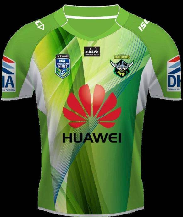 Canberra Raiders Nines Jumper 2014