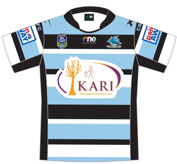 Cronulla Sharks Nines Jersey 2014