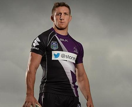 Melbourne Storm Nines Jersey 2014