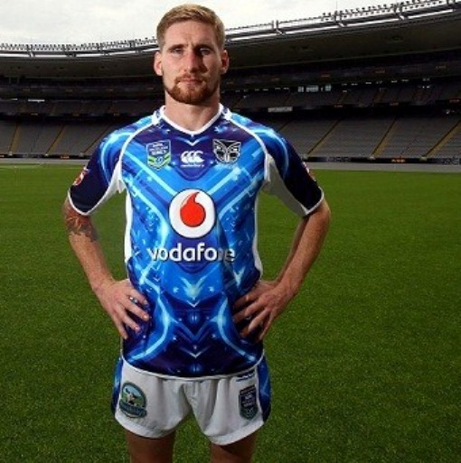 NZ Warriors 9's Jersey 2014