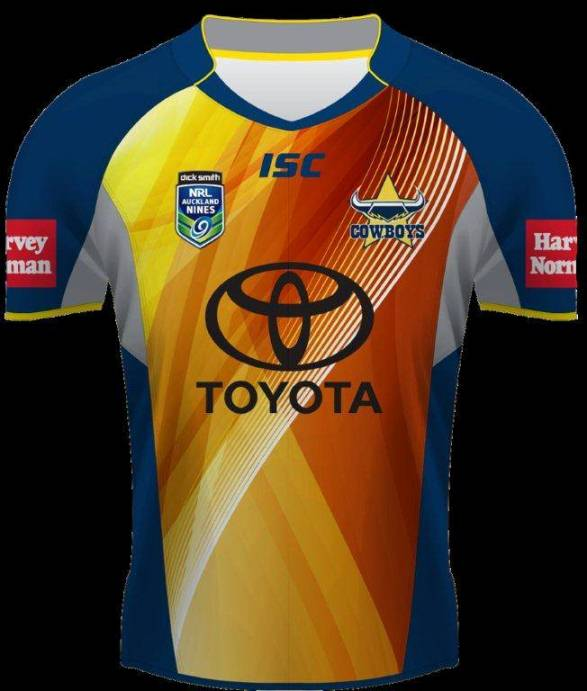 North Queensland Cowboys Nines Jumper 2014