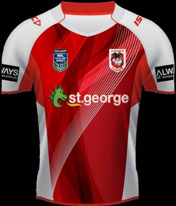 St.George Illawarra Dragons 9's Jersey 2014