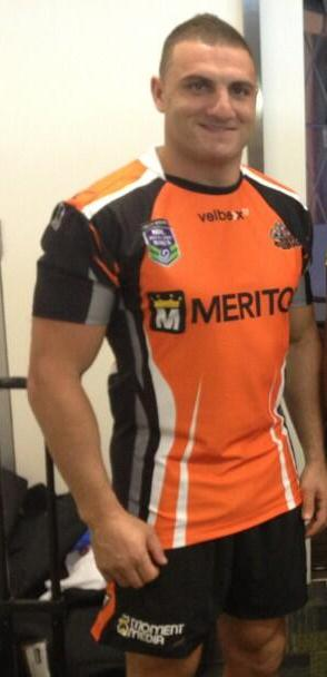 Wests Tigers Nines 2014 Jersey