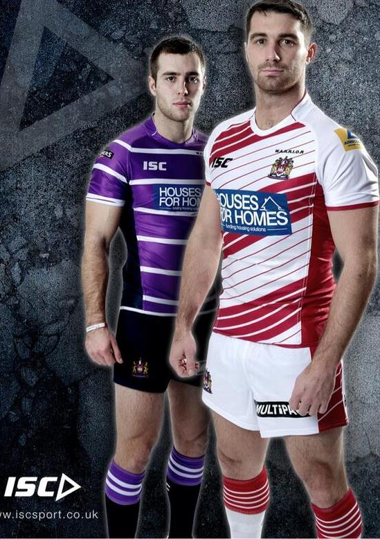 Wigan RL 2014 Kit