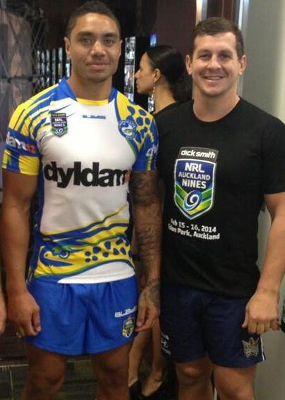 Willie Tonga Eels 2014 Shirt