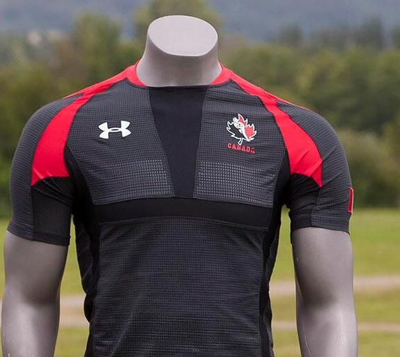 New canada rugby jersey 2014 2015 under armour canadian for Under armour shirts canada