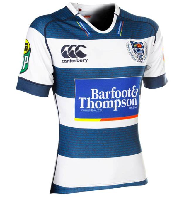 New Auckland 2014 ITM Cup Jersey