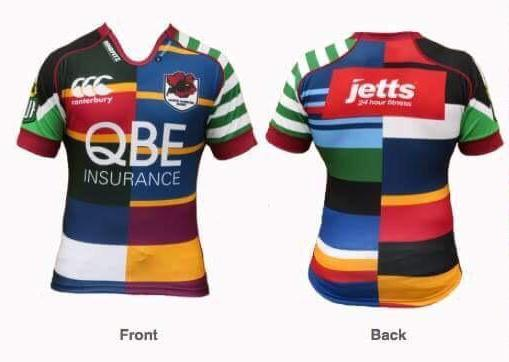 North Harbour Anniversary Jersey 2015
