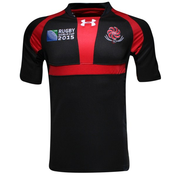 Georgia Rugby World Cup Jersey 2015
