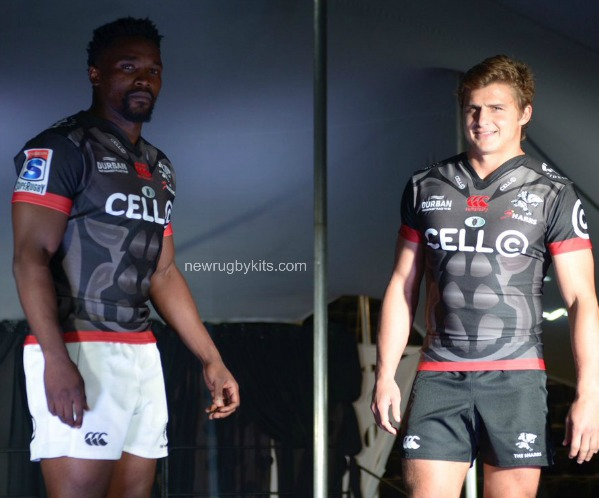 Sharks Rugby Third Jersey 2017