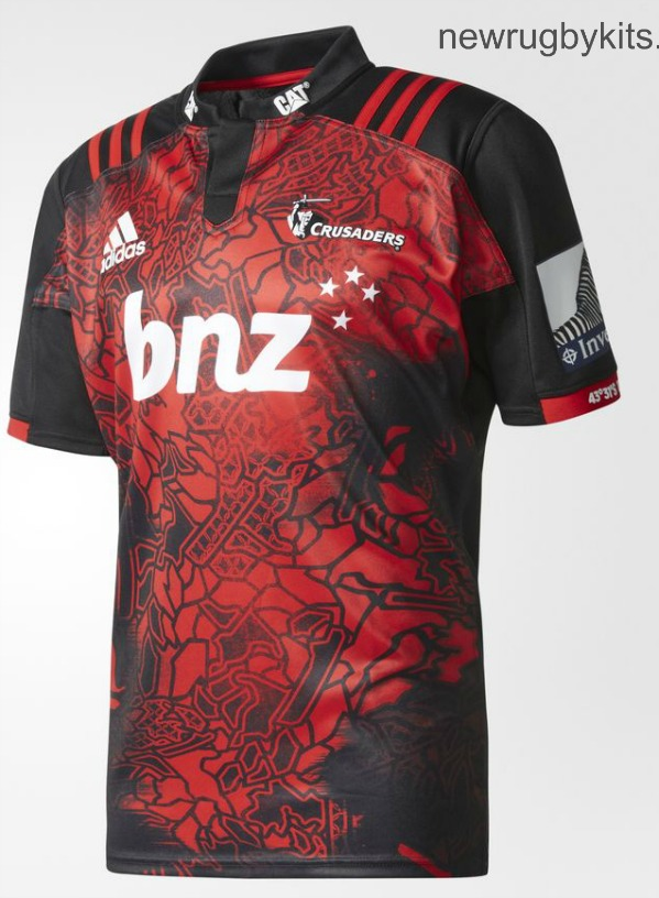 Crusaders Rugby Lions Tour Jersey 2017