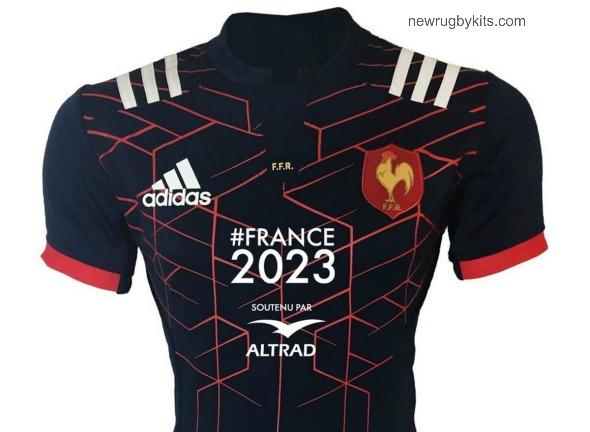 France Rugby Jersey Sponsor Soutenu Par Altrad