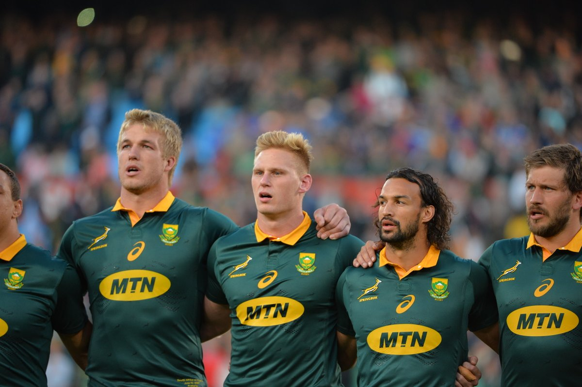 New South Africa Rugby Jersey 2017