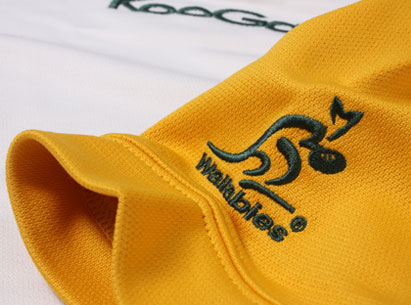 Australia Away Rugby Jersey 2011