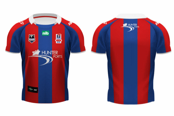 Newcastle Knights Heritage Jersey 2012