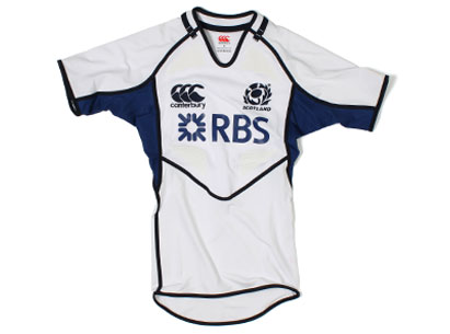 Scotland 6 Nations Rugby Strip 2012