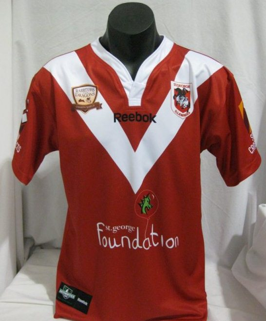 St.George Dragons Charity Shield Jersey 2012