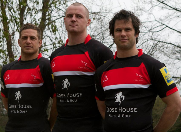 Orion Teamwear Newcastle Falcons Kit 2012