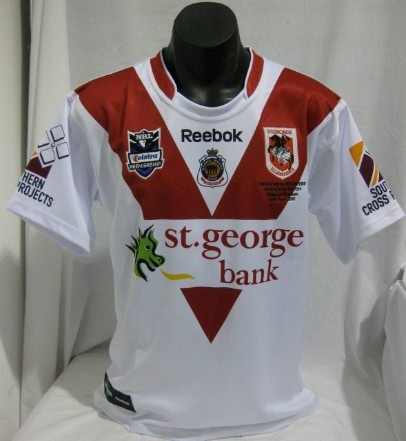 St.George Dragons ANZAC Jersey 2012