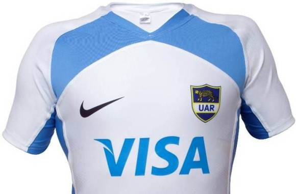 New Nike Argentina Rugby Jersey 2012