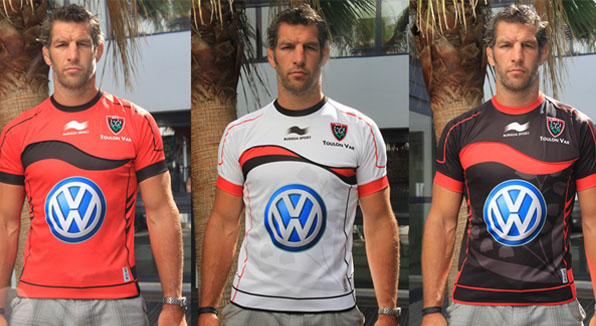 RC Toulon Rugby Jersey 2012-13