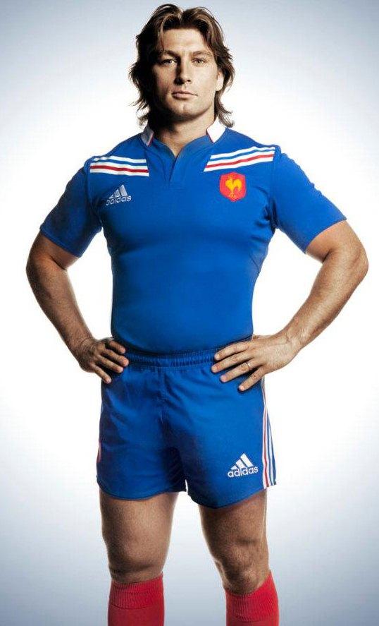 Dimitri Szarzewski France Rugby 2012 Jersey