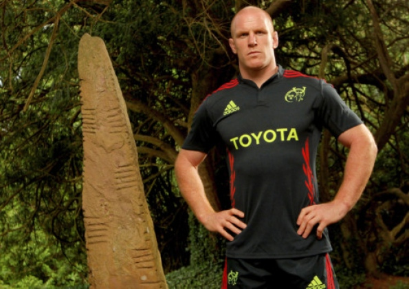 Paul O'Connell Munster 2012 Jersey