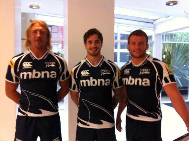 Sale Sharks Canterbury Kit 2012