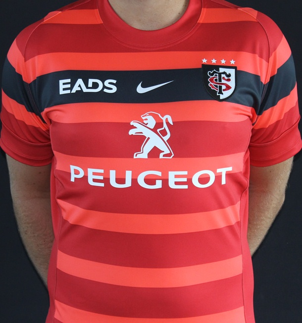 fcffea94583 New Stade Toulousain Jerseys 2012/2013- Nike Toulouse Rugby Shirts ...