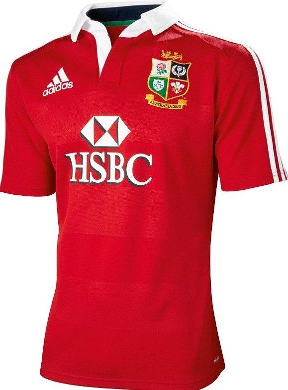 23380cff196 New British and Irish Lions 2013 Kit- Adidas Lions Australia Tour ...
