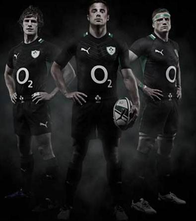 Ireland Rugby Alternate Kit 2012 13
