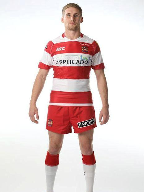 Sam Tomkins Wigan Warriors 2013 Kit