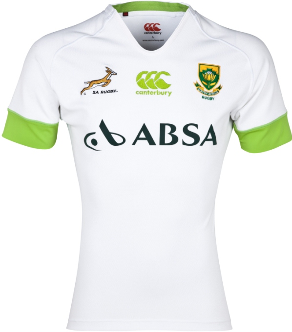 White South Africa New Rugby Shirt 2013