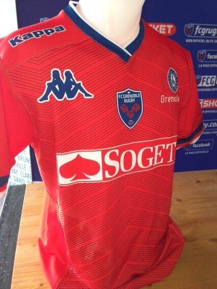 FC Grenoble Top 14 Rugby Jersey 2013 2014