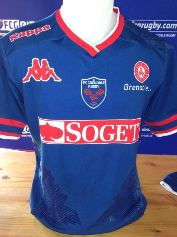 Grenoble Rugby Shirt 13 14