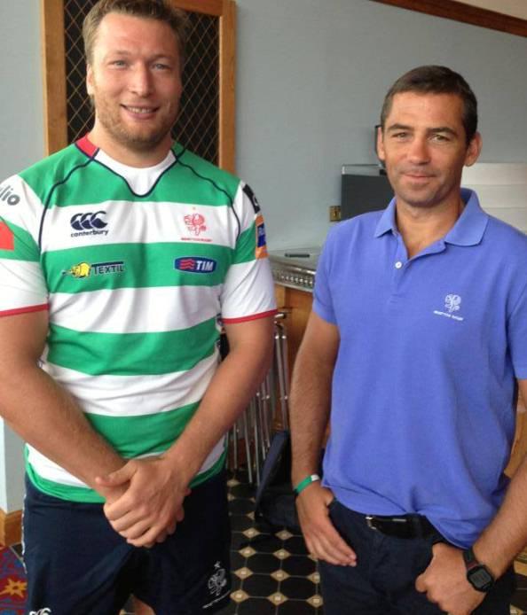 Canterbury Benetton Rugby Shirt 2013 2014