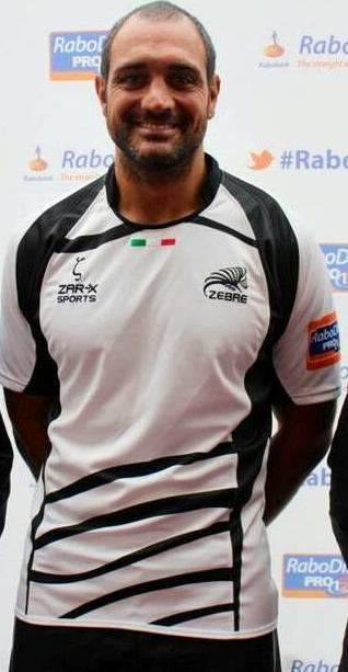 New Zebre Rugby Shirt 2013 14