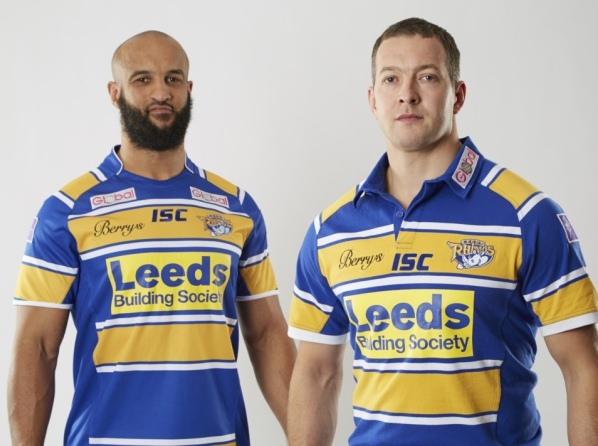 276efd2c7c7 New Leeds Rhinos 2014 Kit- ISC Leeds Rhinos Home Shirt 2014 Super ...