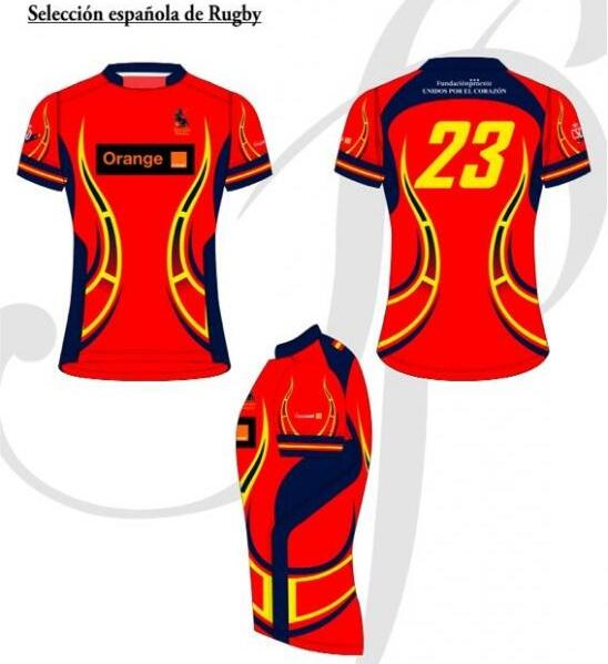 New Spain Rugby Shirt 2014