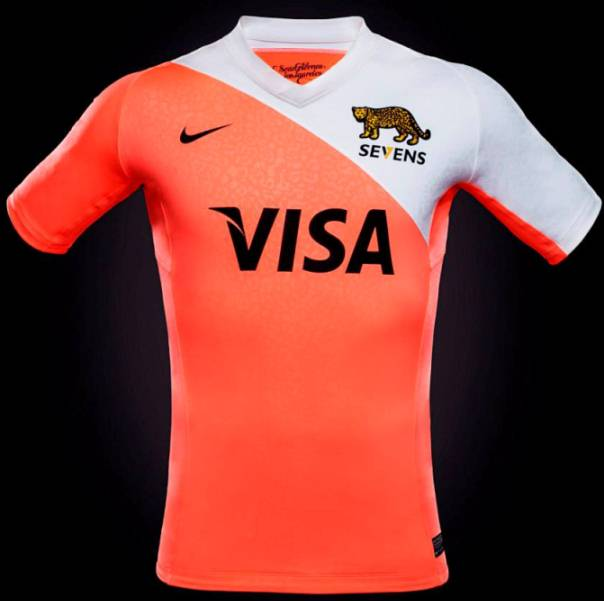 Orange Argentina Rugby Kit 2014