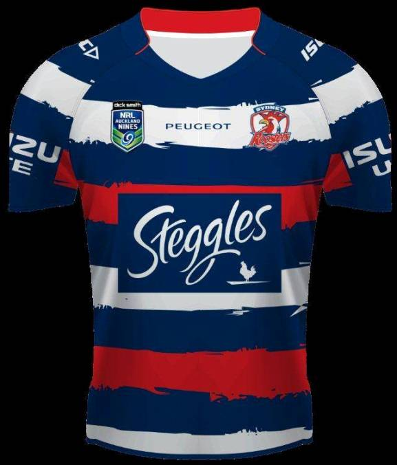 Roosters Nines Jersey 2014